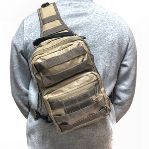 Other - Tactical crossbody side sling chest bag backpack